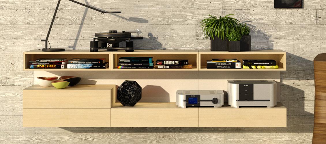 TV & HiFi reol 3K4R-01