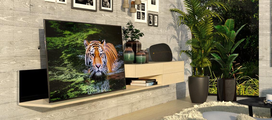 TV & HiFi reol 4K2R-01