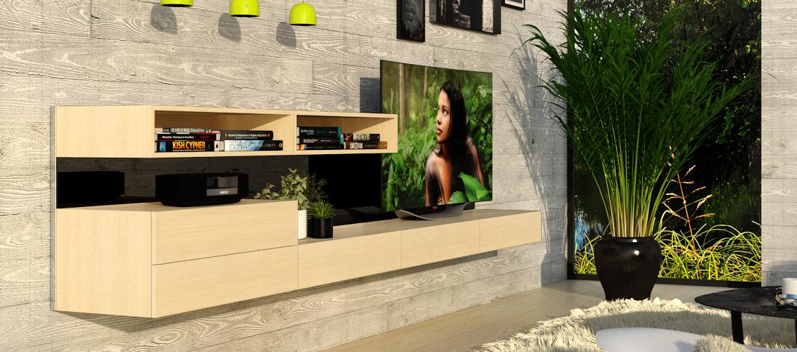 TV & HiFi reol 4K4R-01
